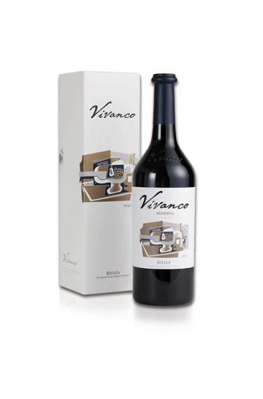 Botella con estuche Vivanco...